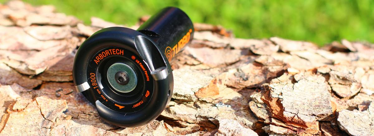 Der Mini Turbo von Arbortech ist ein Schnitzfräser mit 50 mm Durchmesser