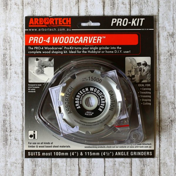 Pro-4 Woodcarver mit Schutzhaube