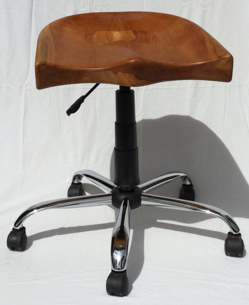 Diese Sitzschale wurde mit der Arbortech Turboplane hergestellt