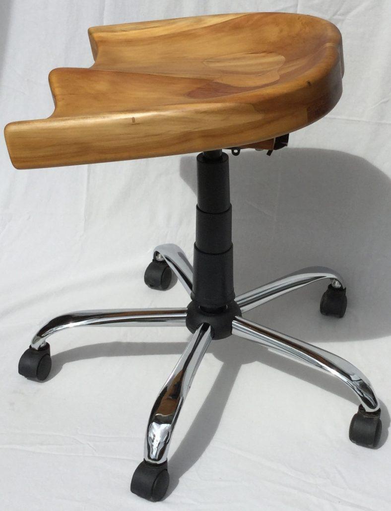 Sam Maloof Stuhl mit Arbortech werkzeug hergestellt