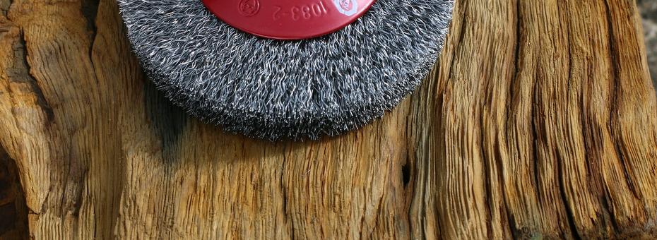 Die Kegelbürste ist eine optimale Erweiterung zu den Arbotech Holzwerkzeug