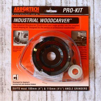 Arbortech Industrial Woodcarver mit Schutzhaube