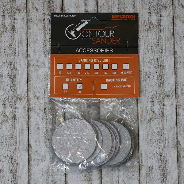 50 mm schleifpads für den Arbortech Kontur Exzenter Schleifer