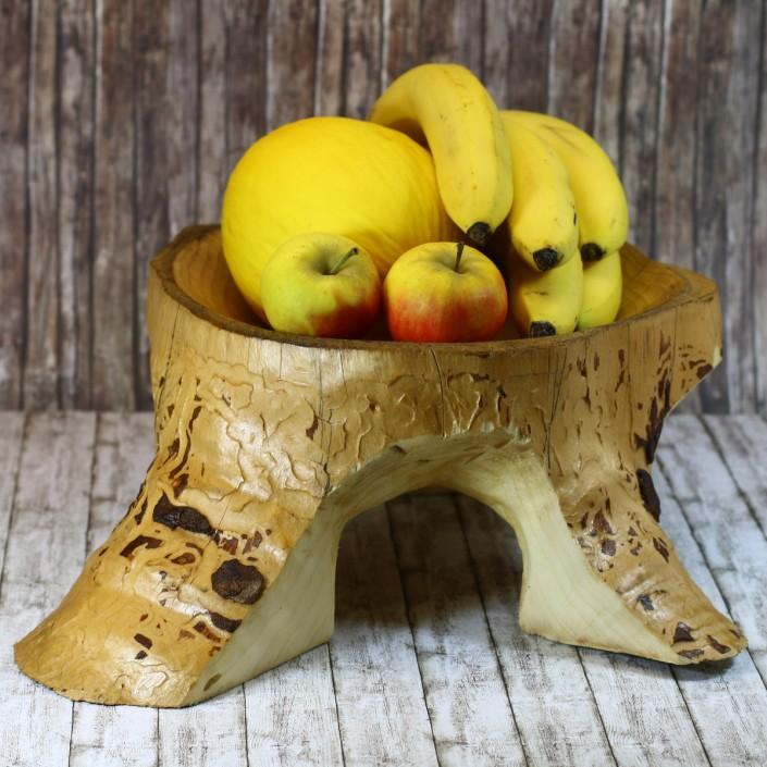 Diese Obstschalen wurde mit der Arbortech TURBOPlane und dem Industrial Woodcarver hergestellt