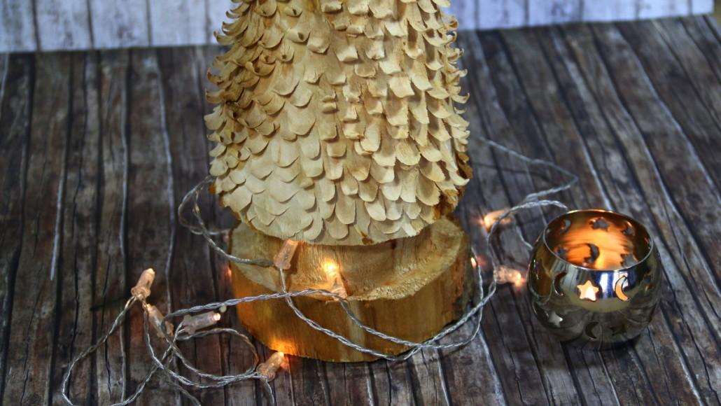 Weihnachtsbaum schnitzen mit Arbortech Holzwerkzeugen