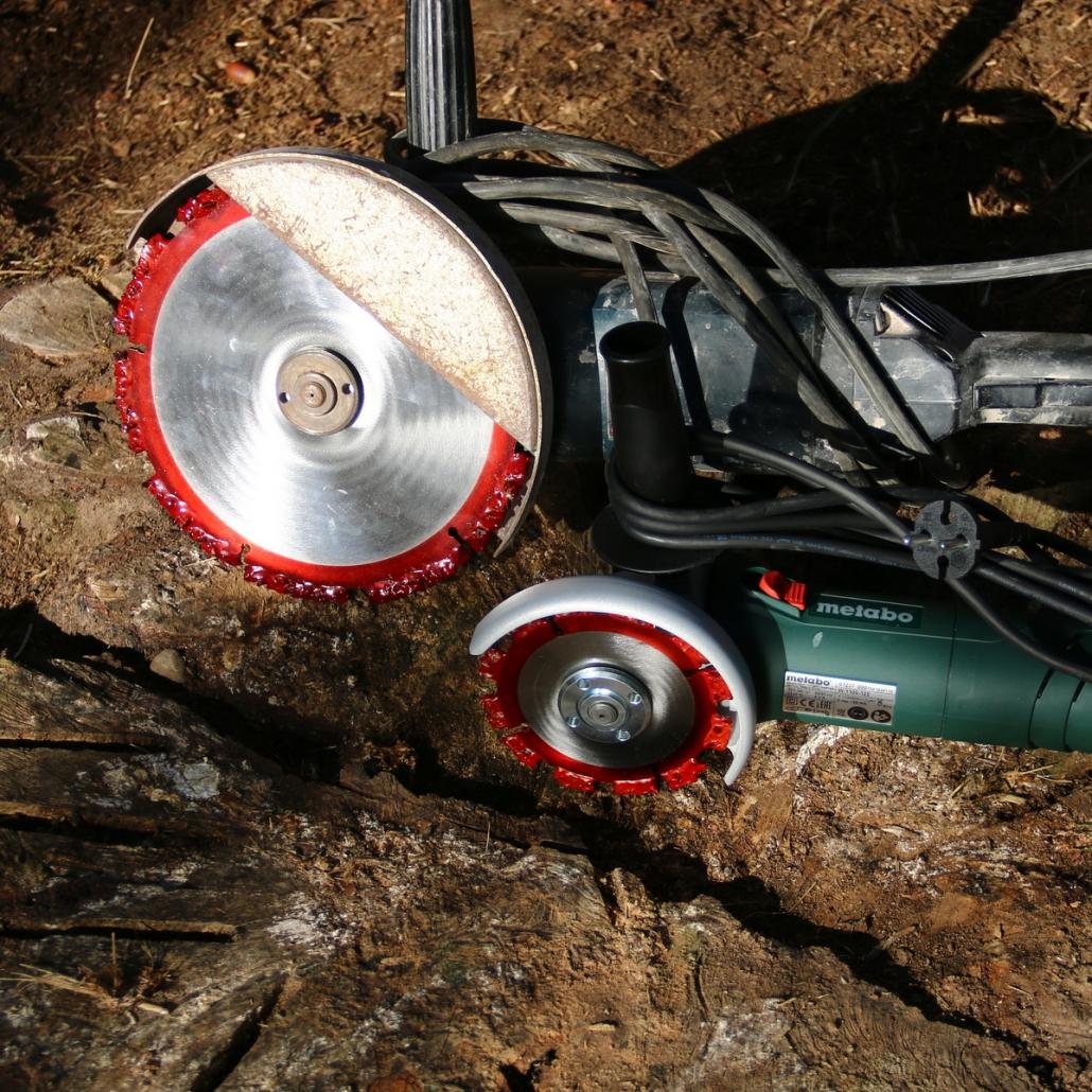 Super Baumstumpf entfernen mit der Root Cutter Baumstumpffräse @VU_23
