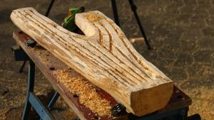 Holzschale schnitzen mit dem Kaindl Woodcarver