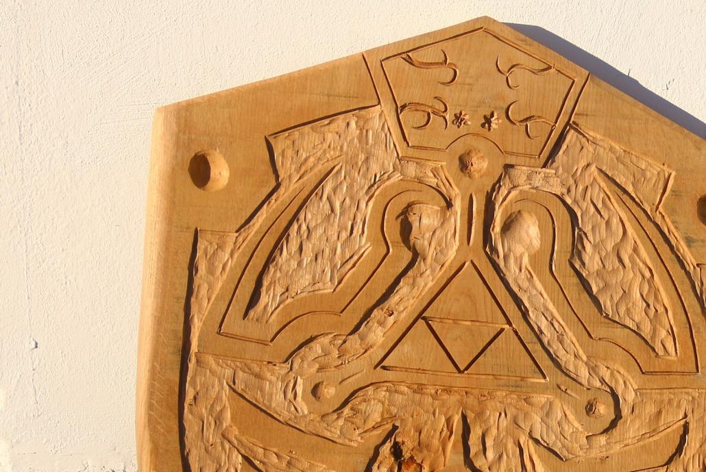 Das Zelda Schild Hylia selber bauen mit Arbortech