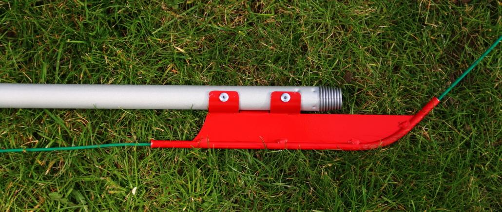 Kabel verlegen für Mähroboter mit der Easymole